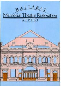 Memorial Theatre Appeal 1960s