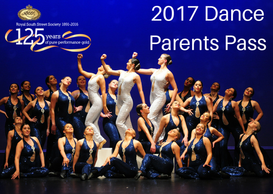 2017 Dance Parents Pass